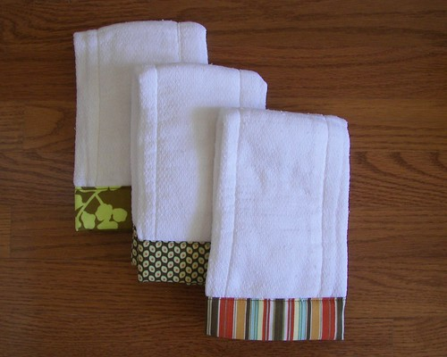 Burp Cloths-Amy's