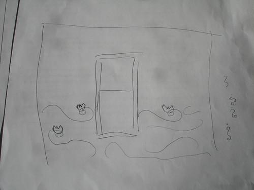 Bedroom Mural Sketch