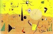 Joan Miró. Catalan Landscape (The Hunter). 1923-24.