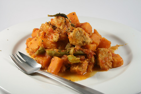 chicken and sweet potato stew