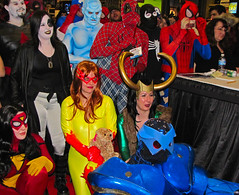 Superheroes - Comic Con 2009