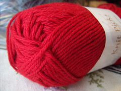Knitpicks Cotlin~ Moroccan Red