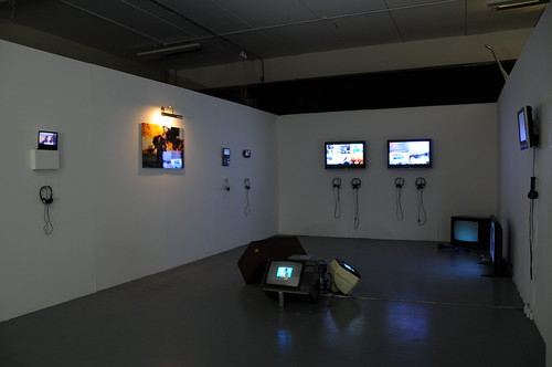 view of MA exhibition, Documentation