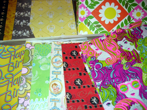 Wrapping paper galore