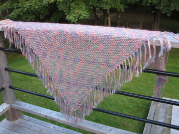 Watercolour shawl 2 2005