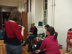 knit night at new TiK