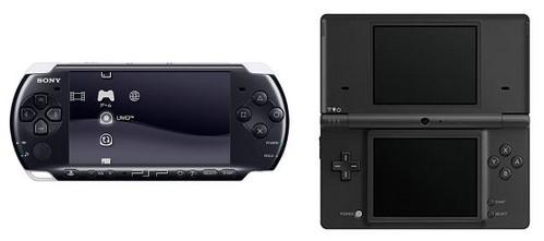 Sony PSP-3000 vs Nintendo DSi
