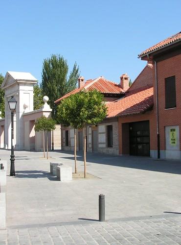 Alrededores de la Puerta de Madrid en la actualidad