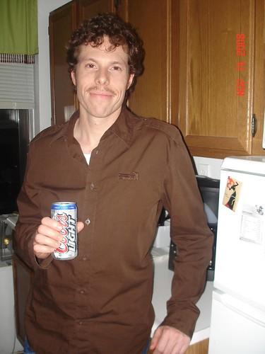 Movember 15, 2008 - 70s stylin Mo