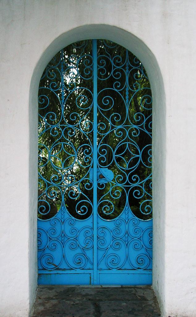 Puerta al jardín del Edén