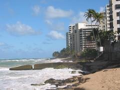 The Atlantic Ocean seen from San Juan