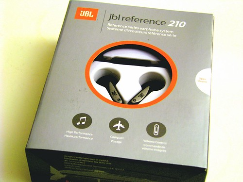 JBL Reference 210 ear buds