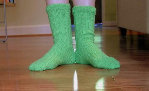 Thuja socks.