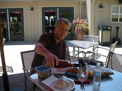 Picnicking at Imagery Winery
