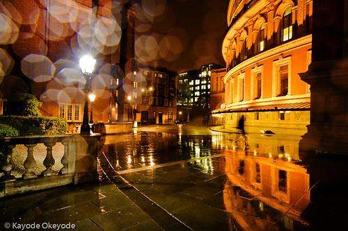 Royal Albert Hall in the Rain
