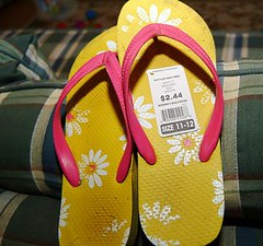 Made-in-China flip flops