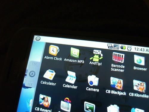 Amazon MP3 on the menu