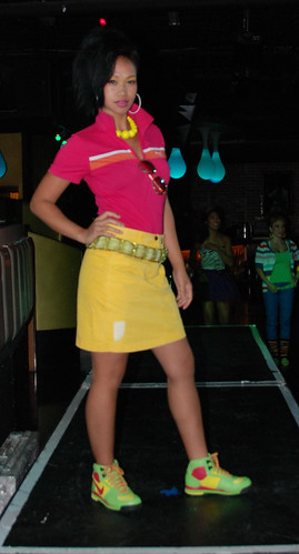 Club Belo 80s Fashion show San Diego