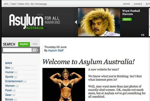 aslylum au