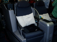 Continental BusinessFirst Seat
