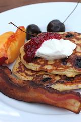 blueberry pancake breakfast