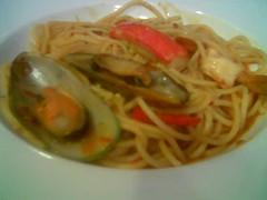 Garden Cafe tom yam spaghetti