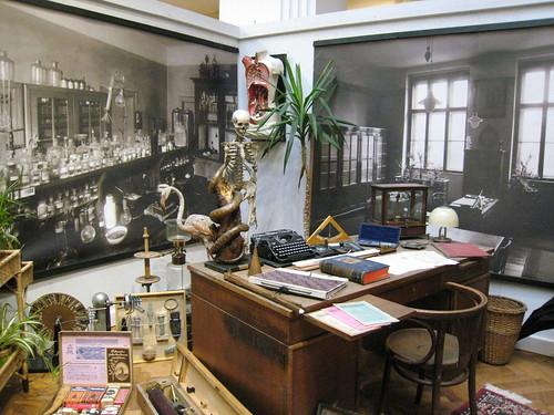 Director's office, 19th century school in Czech Republic