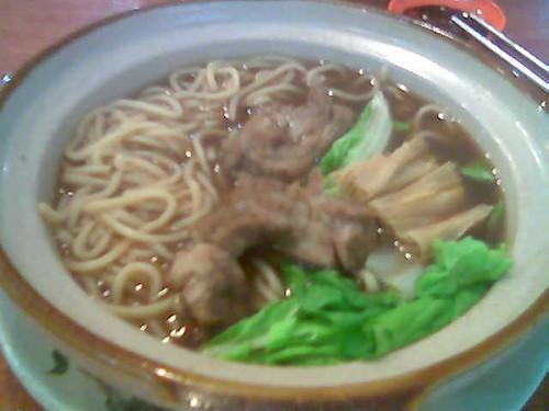 Sibu Yi Shiang bak kut teh noodles