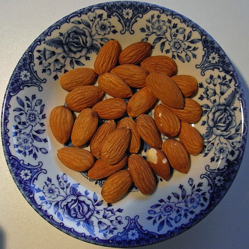 my daily dose of almonds