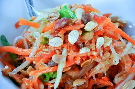 koh samui - cooking classes - green papaya salad (1 of 2)-2
