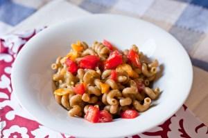 Pasta with Coconut Cream Pesto