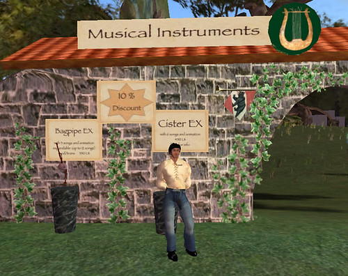 Mikki Miles Medieval Music Instruments