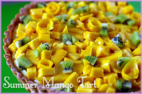 mango tart
