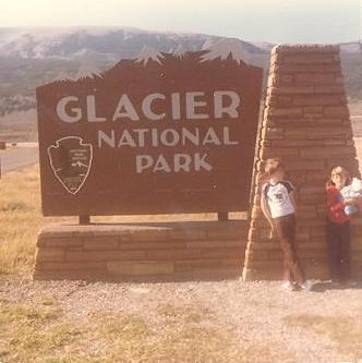 Glacier National Park, 1980