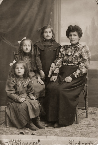 Margie (middle), mother and sisters.jpg