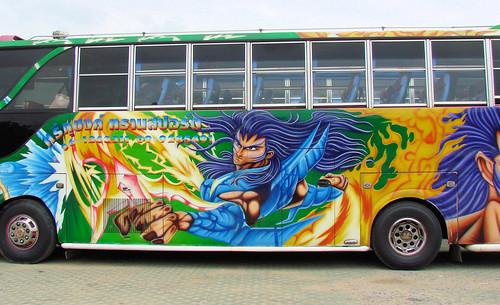 Autobús en Bangkok