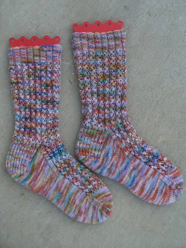 Corded Rib Socks