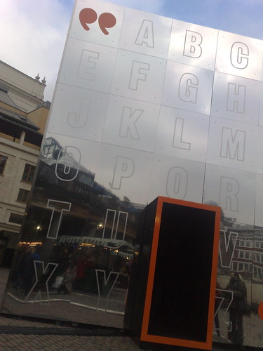 what is this doing in covent garden? by you.
