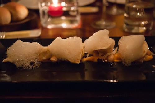 Langoustine Tortellini at Restaurant 27