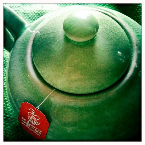 fixed the teapot lid, at long past