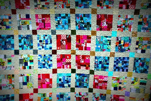 some quilting