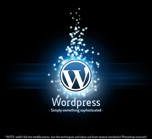 Simply Something Sophisicated - a WordPress poster on Flickr - Photo Sharing!