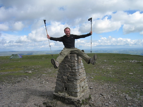 Me at the top of Ingleborough