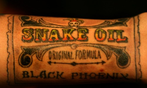 Snake Oil shading and coloring by opacity