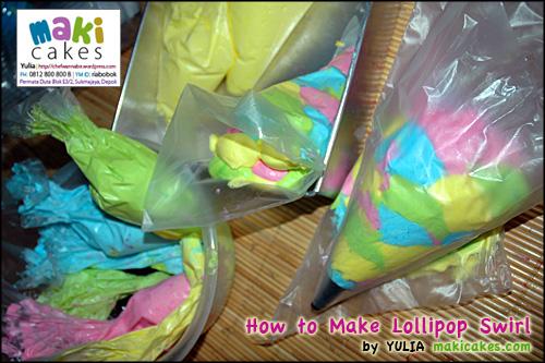 Lollipop Swirl How To - Maki Cakes