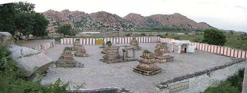 View from Hampi side entrance 1