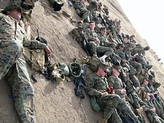A Bunch of Tired Marines