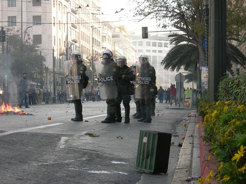 24 Protest in Athens
