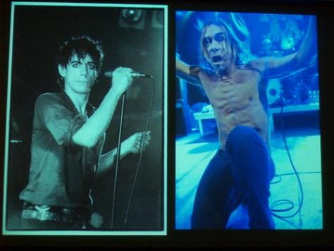 Iggy Pop, decades apart by bev. davies & KK at NV09