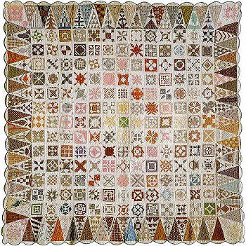 Jane A. Stickle's quilt, Civil War era